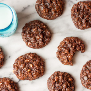 Gluten-Free Chocolate Coconut Cookies