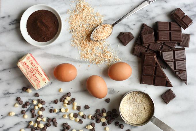 Gluten-Free Chocolate Coconut Cookies | eatfirstworrylater.com