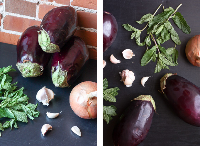 Kashkeh Bademjan - Persian Eggplant Dip  | eatfirstworrylater.com