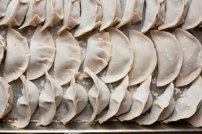 Pork, Chive & Cabbage Dumplings  | eatfirstworrylater.com