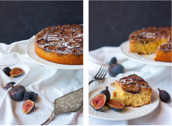 Fig, Almond, & Honey Cake | eatfirstworrylater.com